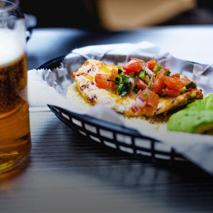 Beer & Korean street food